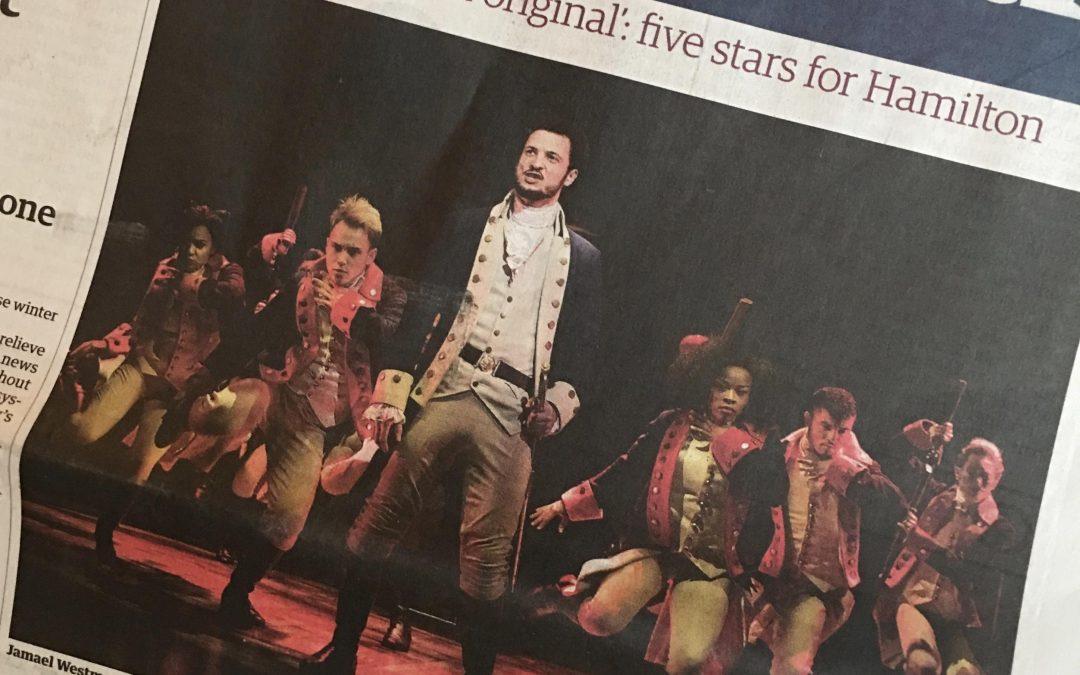 Five stars for Hamilton!